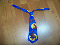 spiderman tie easy on/off tie for babies and toddlers necktie  spidey tie