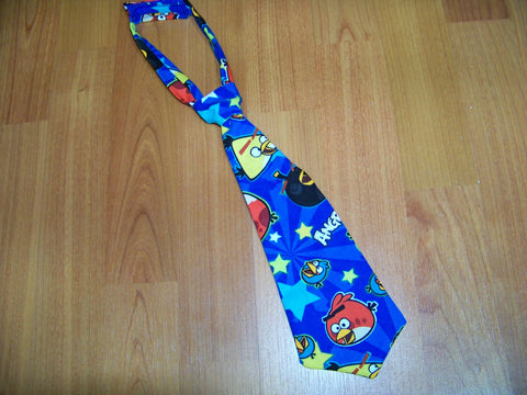 angry bird  tie easy on/off tie for babies and toddlers necktie