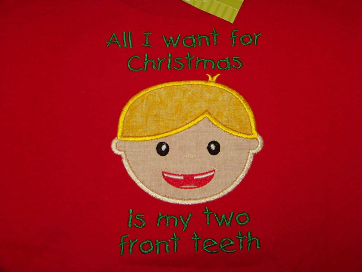 All I Want For Christmas Is My Two Front Teeth.All I Want For Christmas Is My Two Front Teeth Shirt Christmas Shirt