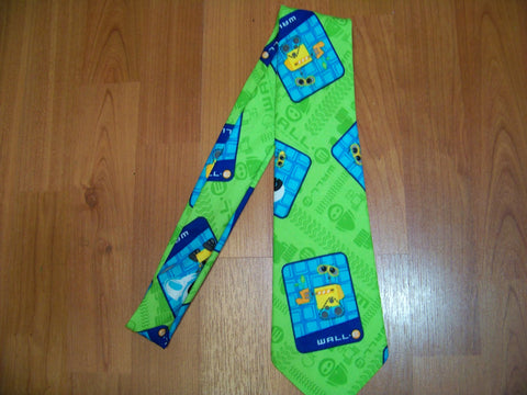 Wall e  mans mens necktie walle  neck tie great birthday gift and picture prop