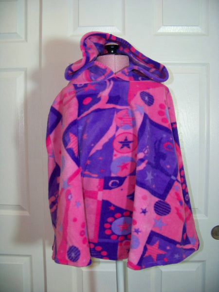 ballerina ballet Poncho  Hoodie fall and pink and purple winter pullover hoodie