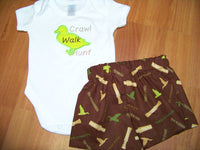 Duck Dynasty Inspired Two Piece Shirt Set Duck Shirt and Shorts