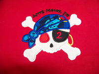 Pirate birthday personalized shirt boys pirate party shirt