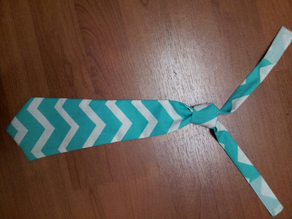 chevron tie easy on/off tie for babies and toddlers necktie