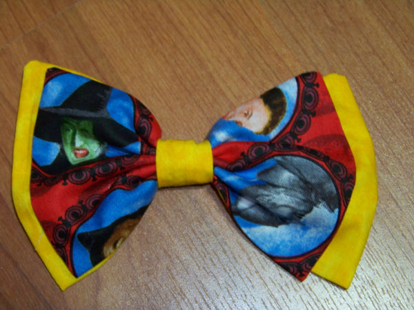 Wizard of OZ hair bow your choice of clip girls OZ cloth hairbow