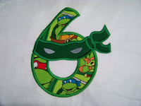 ninja turtle birthday shirt personalized ninja birthday shirt