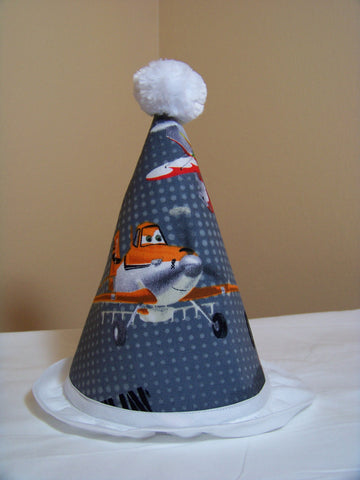 Disney Planes Birthday Hat Airplane Themed Birthday Party Hat