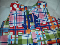 Michael Miller Jon Jon Summer Personalized Plaid Jon Jon