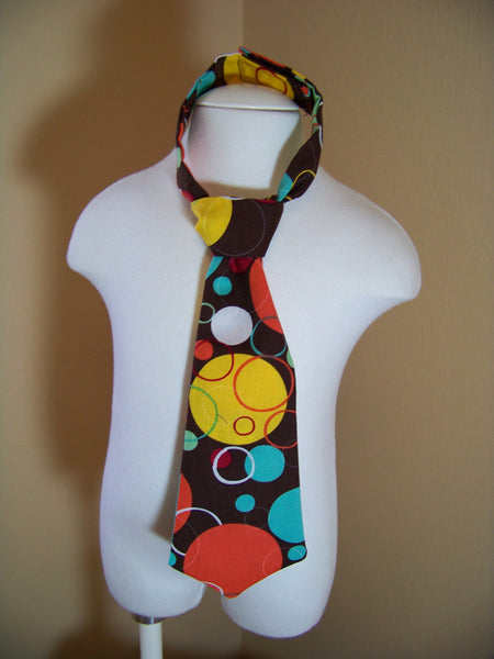 polka dot tie easy on/off tie for necktie