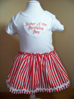 Sister of the Birthday Boy or Girl Pirate Dress