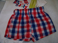 My First 4th of July Shirt  and Short Set Size 12 Months