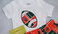 Miami Hurricanes Football Shirt little man college football team spirit shirt