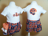 Auburn Tiger twins or sibling sets Auburn university  tiger  football (2 outfits)