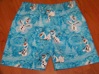 Frozen Olaf Shorts Frozen Birthday Party Shorts