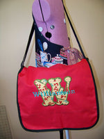 Back to School Messenger Bag Teacher Gift