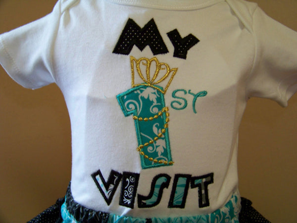 My First Visit  Shirt PrincessInspired 1st Visit Shirt