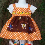 Candy Three Piece Halloween Dress Set