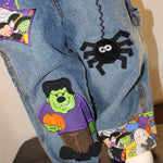 Halloween Two Piece Overall Set