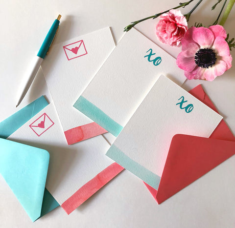 Paper By Parcel XO Snail Mail Stationery Set