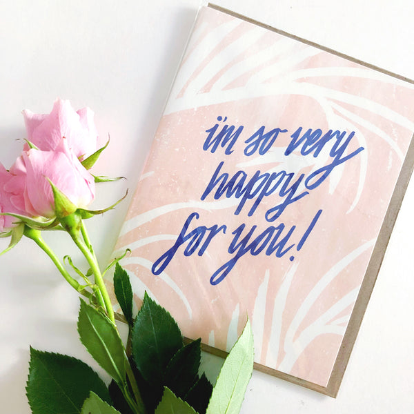Daydream Prints So Happy Card