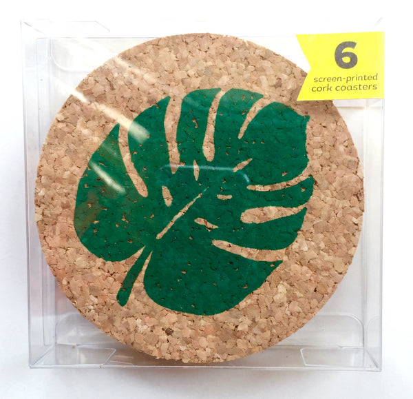 Shifting Status Kuo Palm Leaf Coaster Set