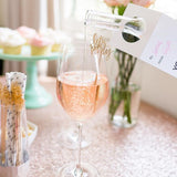 Chez Gagne 'Let's Party' Stirrers/Toppers