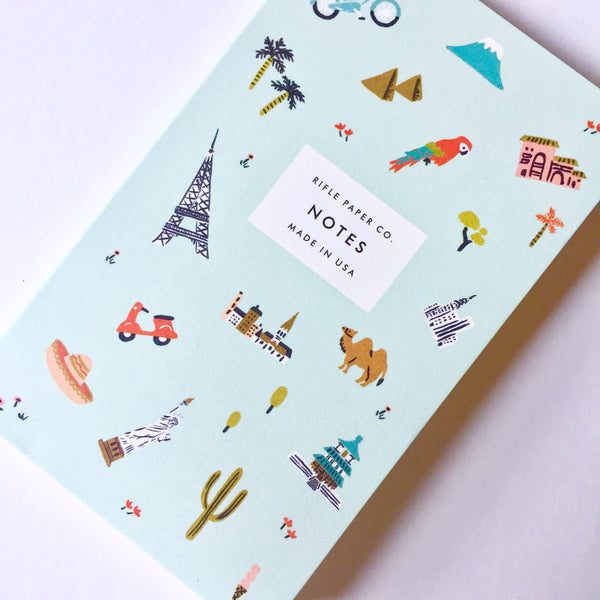 Rifle Paper Co. Wanderlust Pocket Notebook