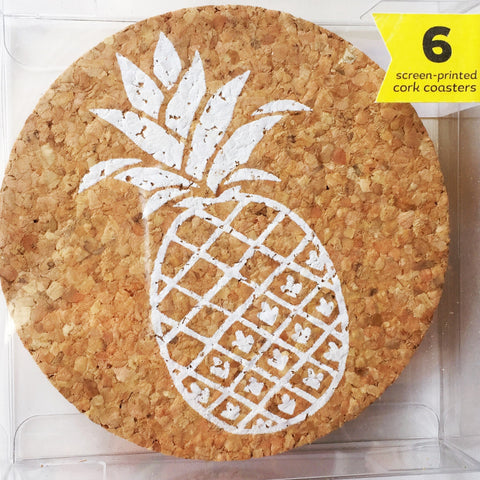 Shifting Status Kuo Pineapple Coaster Set