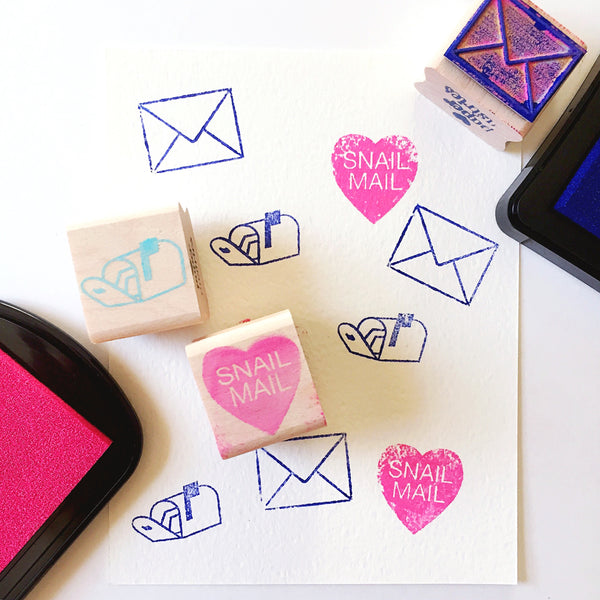 Paper Pastries Snail Mail Stamps
