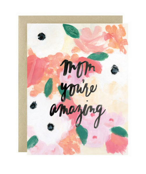 Our Heiday 'Mom You're Amazing' Card