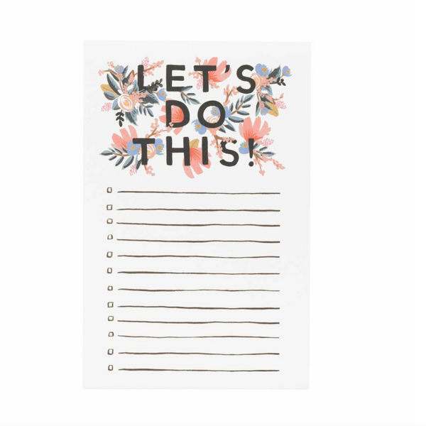 Rifle Paper Co. 'Let's Do This' Notepad