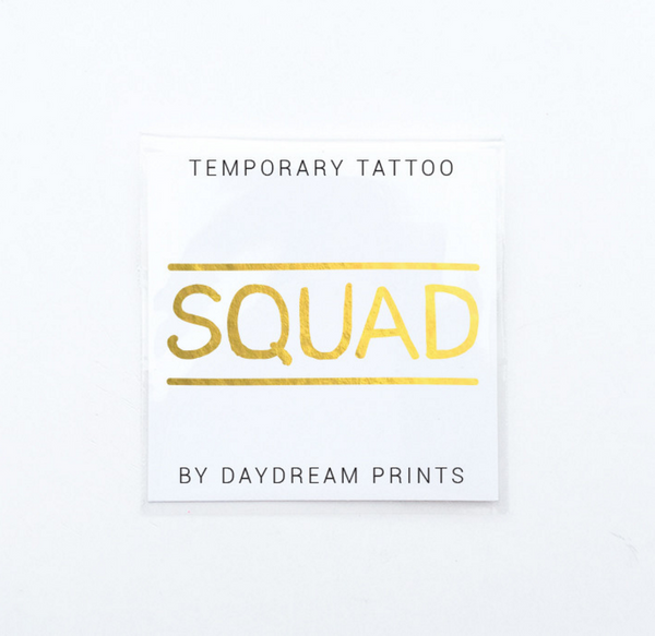 Daydream Prints Single 'Squad' Flash Tattoo