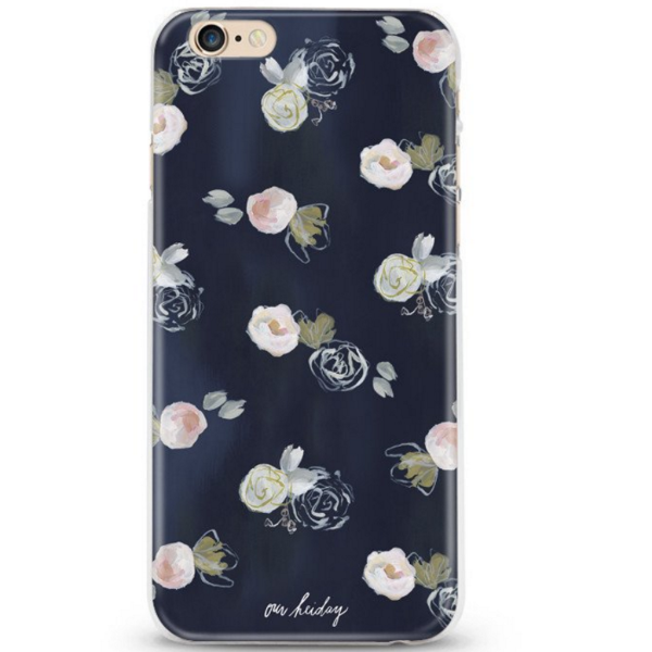 Our Heiday Blue Florals Phone Case