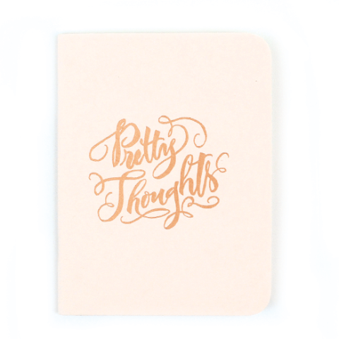 Antiquaria 'Pretty Thoughts' Jotter
