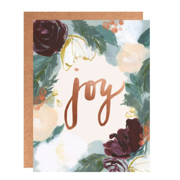 Our Heiday 'Joy' Card