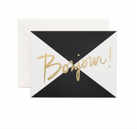 Rifle Paper Co. Bonjour Card