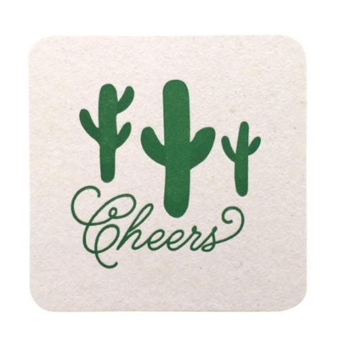 Revel & Co. Cactus Coasters