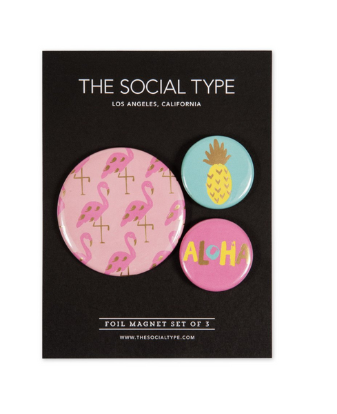 The Social Type Aloha Magnets