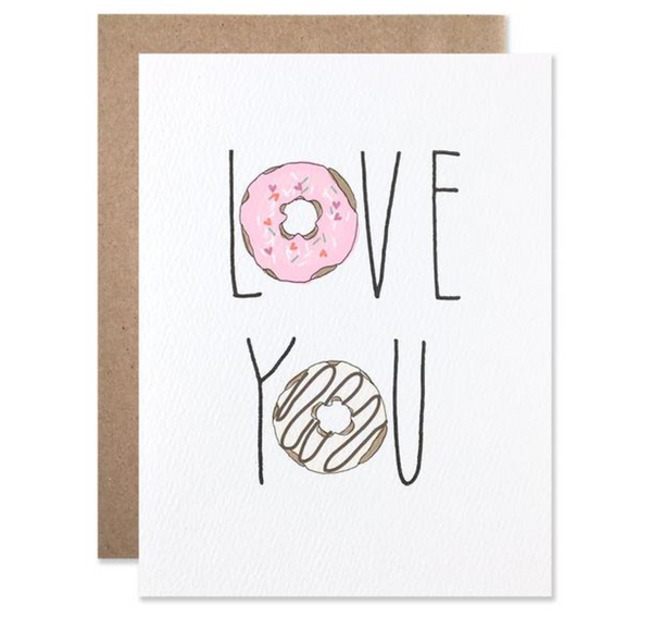 Hartland Brooklyn 'Love Donuts' Card