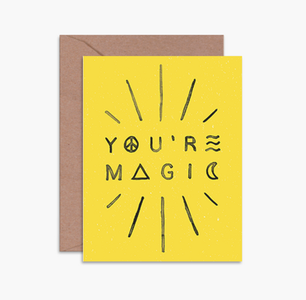 Daydream Prints 'You're Magic' Card