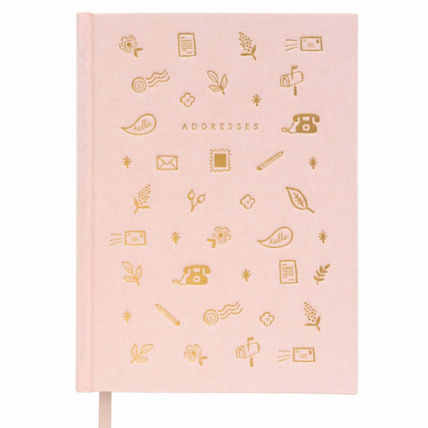 Rifle Paper Co Blush Address Book