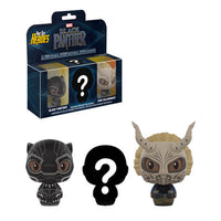 Funko Pint Size Heroes Black Panther 3 Pk.