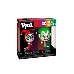 Funko DC Heroes Harley Quinn & The Joker Vynl Figure 2 Pack - (Pre-order Ships by end of January 2018)