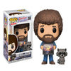 Funko Bob Ross And Raccoon POP! Vinyl Figure