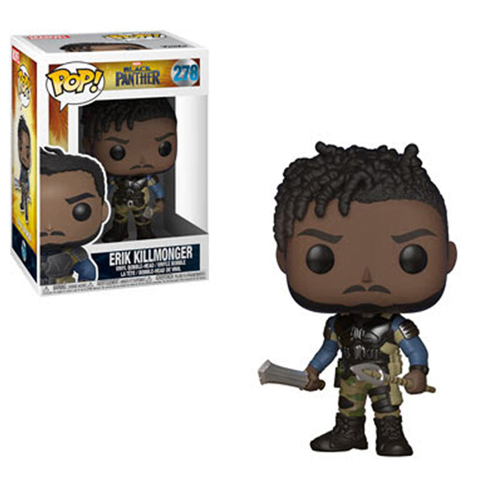 Funko Black Panther Erik Killmonger POP! Vinyl Figure