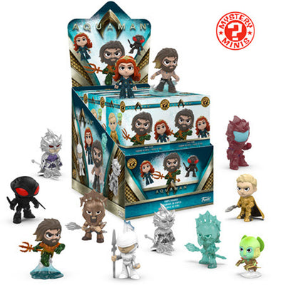 Funko Mystery Mini: Aquaman Mini Figures (Pre-order Ships November 2018)