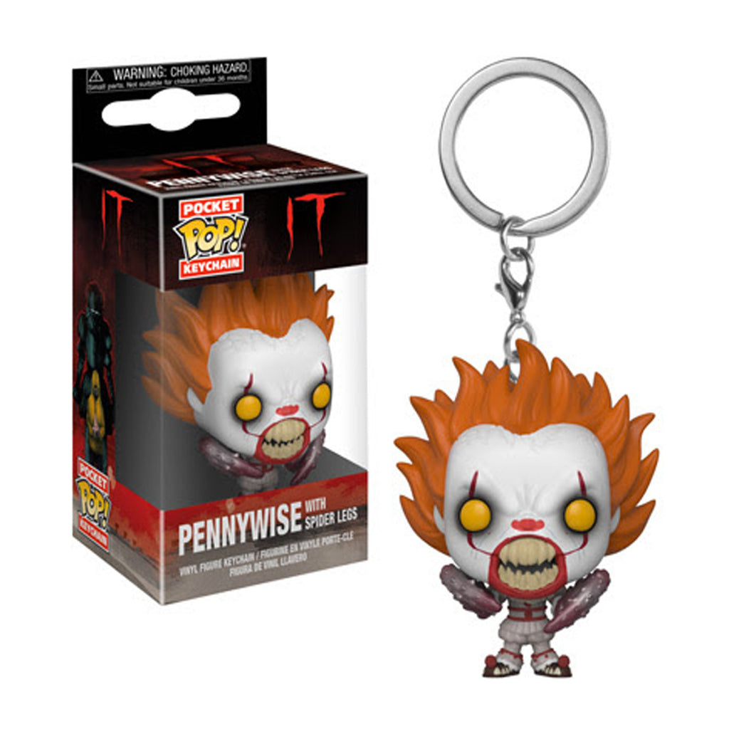 Funko IT Pennywise With Spider Legs Pocket Pop! Keychain (Pre-order ships September 2018)