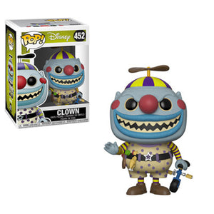 Funko Nightmare Before Christmas Clown POP! Vinyl Figure #452 (Pre-order Ships November 2018)