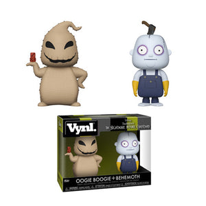 Funko Nightmare Before Christmas Oogie Boogie & Behemoth Vynl Figure 2 Pack (Pre-order Ships in November 2018)