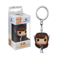 Funko Overwatch D.Va Pocket Pop! Keychain (Pre-order ships September 2018)